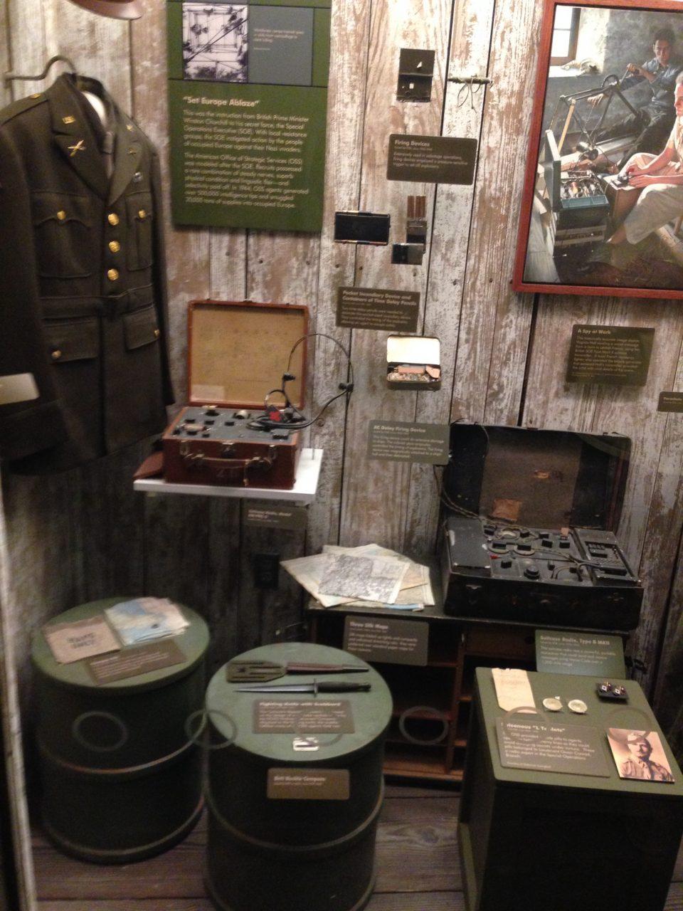 Spy Museum à DC au pair