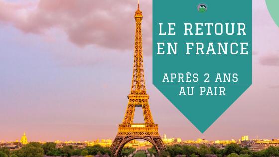 Le retour en France après deux années au pair