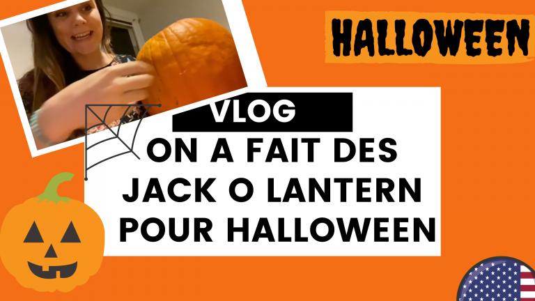 Faire les citrouilles Jack o lantern pour Halloween